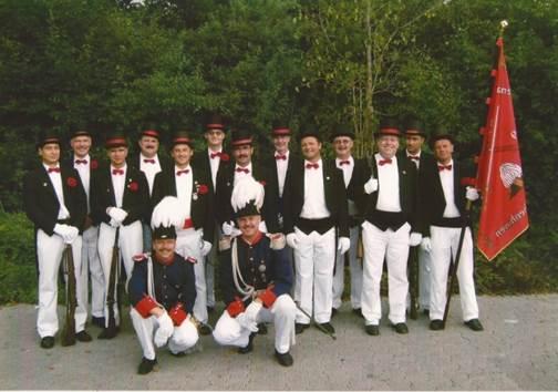 "1. Grenadierzug ""Chapeau Claque"" 1990"